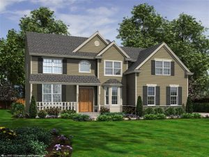 The Mayfair Colonial on Homesite LB197 at The Legends at Beekman Country Club