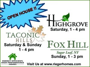Rieger Homes, new homes, hudson valley new homes