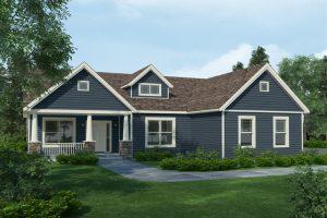 Rieger Homes, Newburgh NY, Craftsman Ranch Homes Style